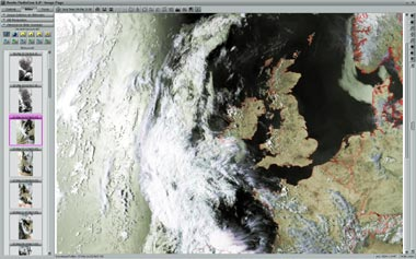 NOAA Image from www.meteoserver.net